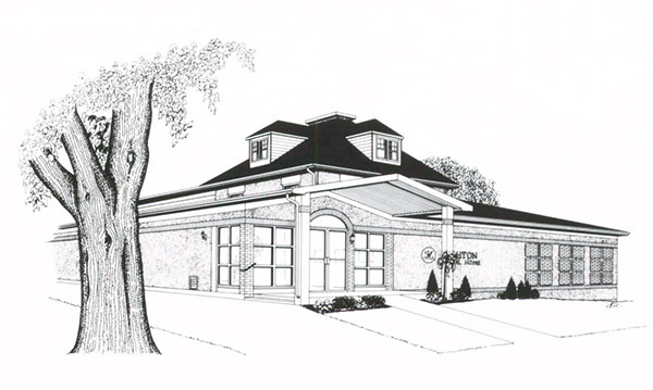 Mighton Funeral Home Drawing